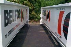 Truck Graphics - Belfor